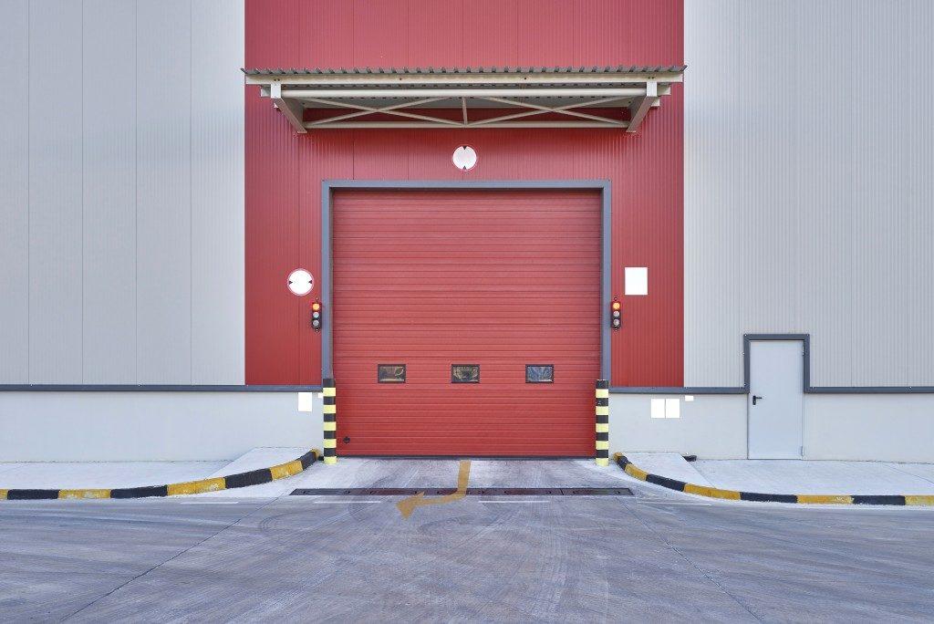 Roller Shutter Door of a warehouse
