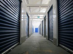 Rolling shutter doors of storages