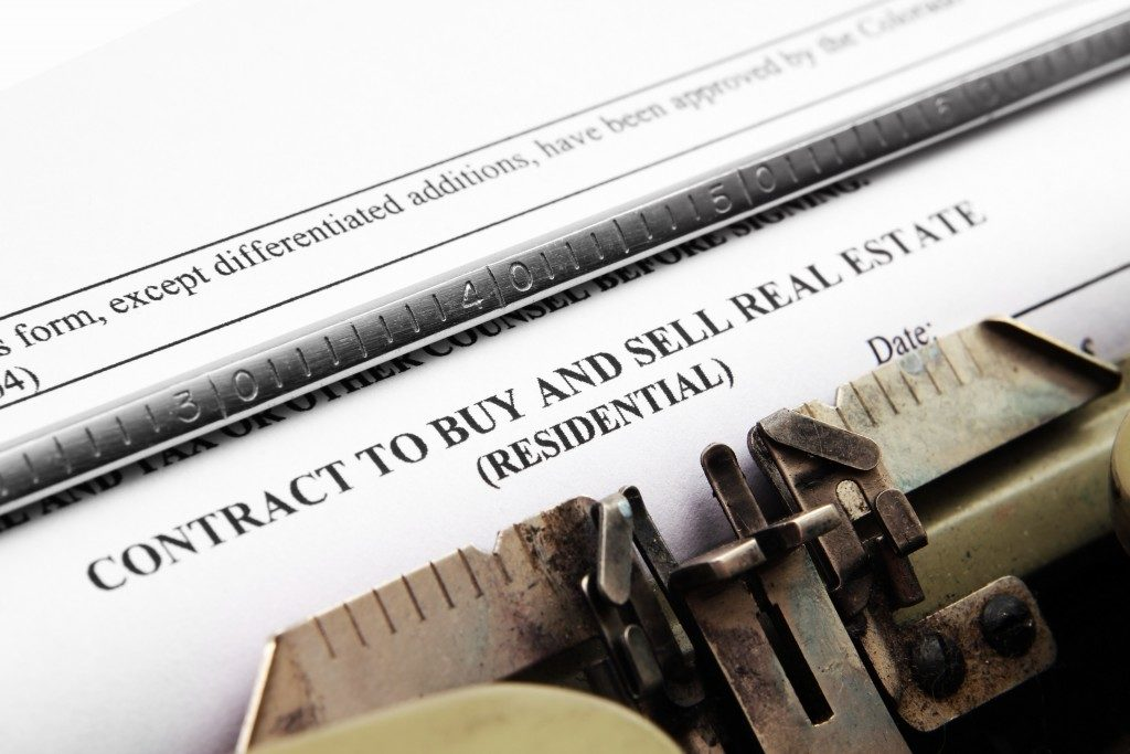 real estate buy and sell contract