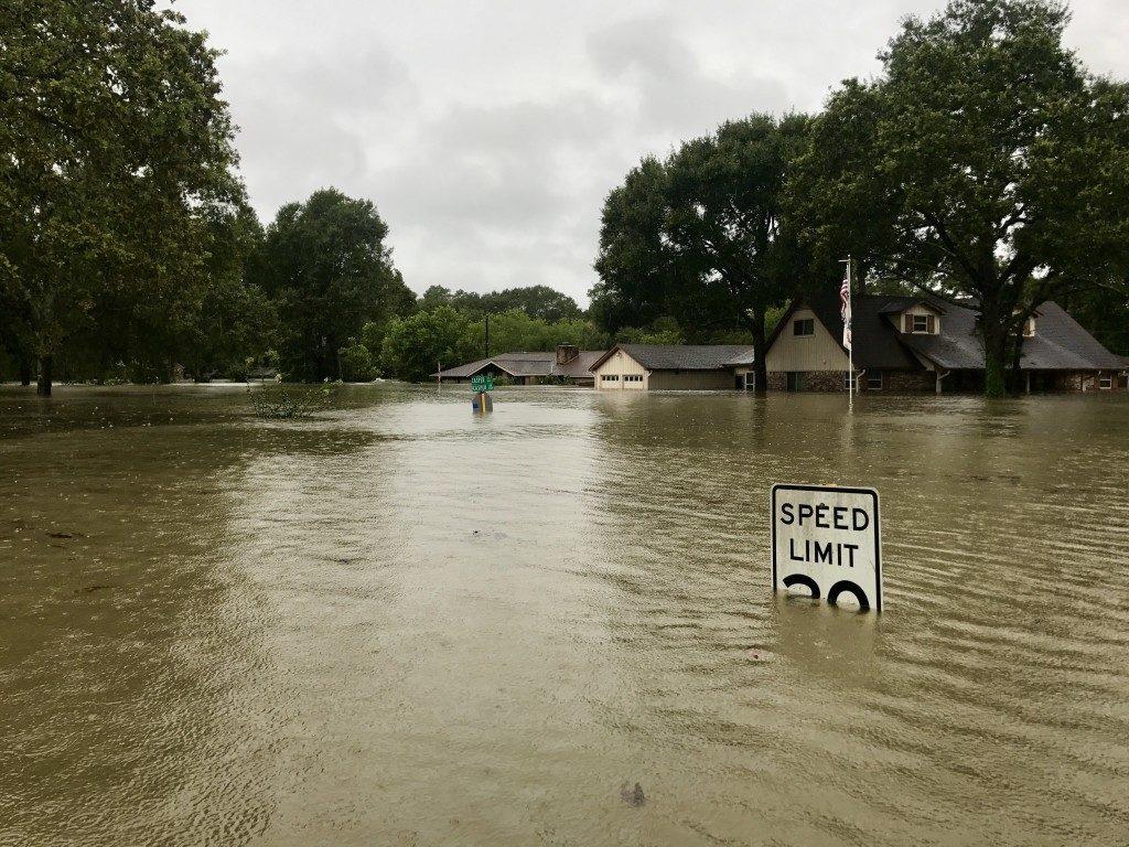 Flood in the neighborhood
