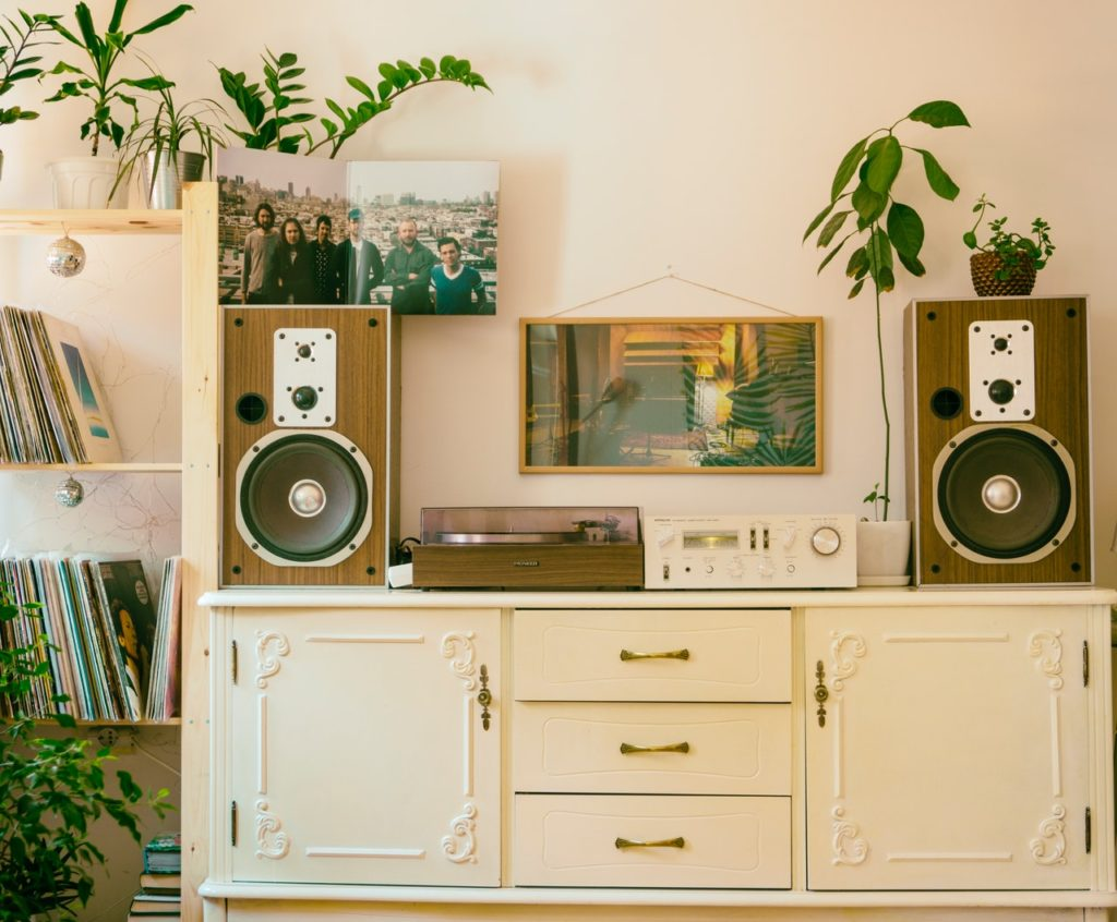 Refurbished vintage appliances