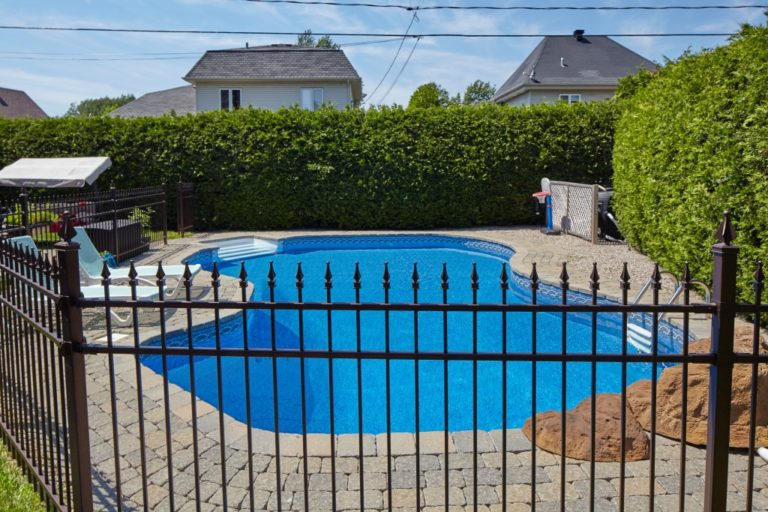 home swimming pool