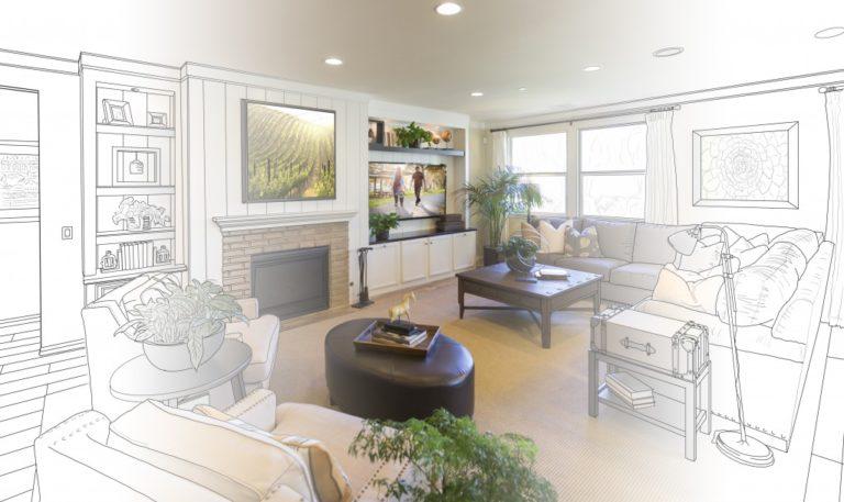 House renovation sketch